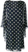 Alberta Ferretti geometric print shift dress