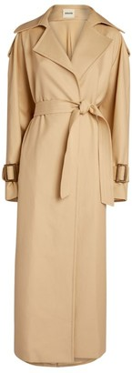 KHAITE Libby Trench Coat