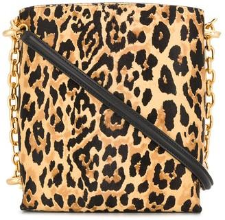 Paco Rabanne Leopard Pattern Shoulder Bag