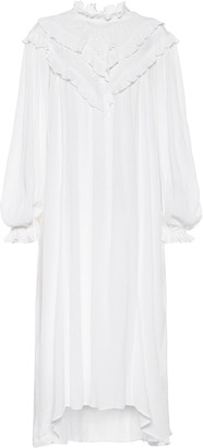 Etoile Isabel Marant Ibenia cotton-blend midi dress
