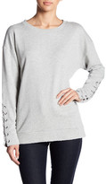 Joe's Jeans Joe&s Jeans French Terry Lace Up Sweatshirt