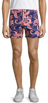 Parke & Ronen Medallion Print Holler Shorts