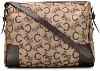 Céline Pre Owned Horse Carriage Pattern Shoulder Bag