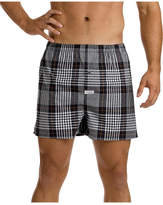 Mitch Dowd Mason Check Stretch Yarn Dyed Boxershort