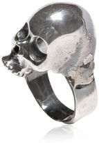 Emanuele Bicocchi Silver Skull Ring