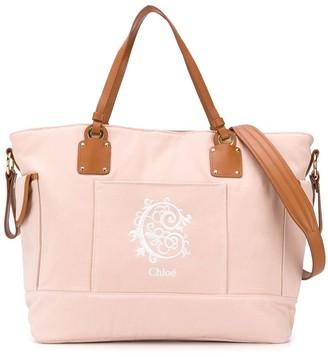 Chloé Kids Branded Shoulder Bag