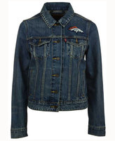 Levi's Women's Denver Broncos Denim Trucker Jacket