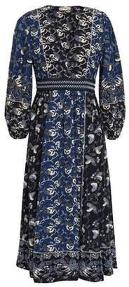 Ulla Johnson Iona Embroidered Cotton-blend Midi Dress