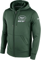 Nike Men's New York Jets Sideline KO Fleece Full-Zip Hoodie