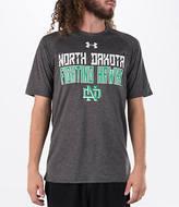 Under Armour Men's North Dakota Fighting Sioux College Wordmark T-Shirt
