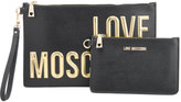 Love Moschino Women's Logo Clutch Bag Black