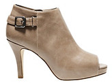 "Madden-Girl Ginny"" Open-toe Ankle Boot - Grey"