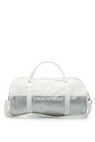 Country Road Spliced Metallic Logo Tote