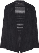 Autumn Cashmere Cable-knit cotton cardigan