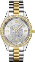 JBW Women's Mondrian Two-Tone 18K Gold Plated Stainless Steel Watch, 37mm
