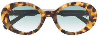 Just Cavalli gradient-lense oval sunglasses