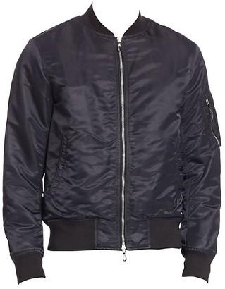 Rag & Bone Long Sleeve Bomber Jacket