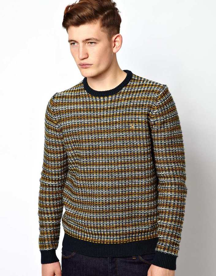 Farah Sweater with Reverse Pattern