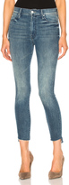 Mother Crop Fray Skinny
