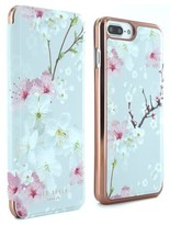 Ted Baker Mirror Iphone 6/6S/7/8 Plus Folio Case - Pink