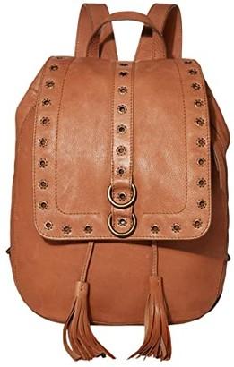 Frye Evie Backpack (Cognac) Backpack Bags