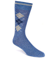 Daniel Cremieux Melange Argyle Crew Dress Socks