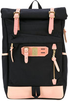 MASTERPIECE Master Piece - buckled backpack - men - Nylon/Leather - One Size