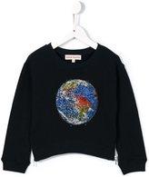 Anne Kurris 'Zip' earth sweatshirt