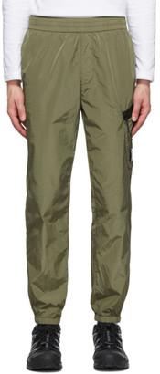 C.P. Company Green Lens Cargo Track Pants