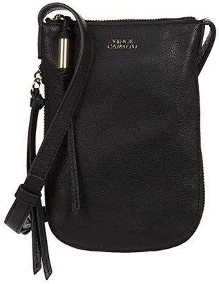 Vince Camuto Kenzy Phone Case (Black) Handbags