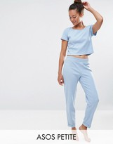 Asos LOUNGE Ribbed Relaxed Jogger
