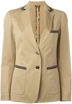 Etro button up blazer - women - Cotton/Spandex/Elastane/Viscose - 46