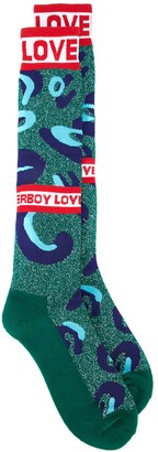 Charles Jeffrey Loverboy Monster socks