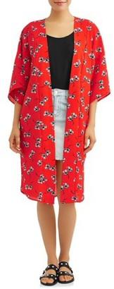 Loramendi Women's Woven Kimono Jacket