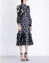 Erdem Sadie cotton-blend dress