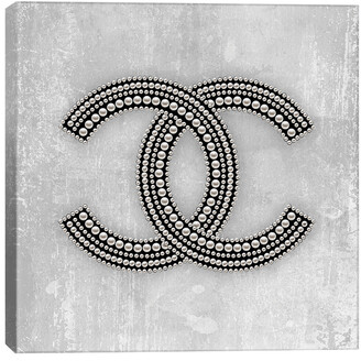 iCanvas Chanel Logo By Martina Pavlova