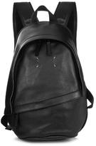 Maison Margiela Stitched Logo Leather Backpack