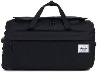 Herschel Wheelie Outfitter Travel Duffle - Black