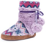 Muk Luks Slippers Womens Delanie Pull On M 7-8 0016988