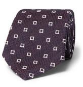 Ermenegildo Zegna 8cm Silk-Blend Jacquard Tie