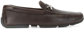 Bally Braided-Strap Loafers