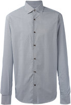 Salvatore Ferragamo geometric print shirt - men - Cotton - M
