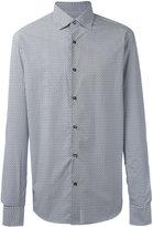 Salvatore Ferragamo geometric print shirt - men - Cotton - S