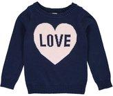 """Carter's Little Girls' Toddler """"Knit Love"""" Sweater"""