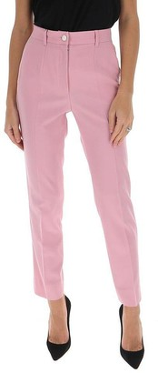 Dolce & Gabbana Side Stripe Tailored Pants