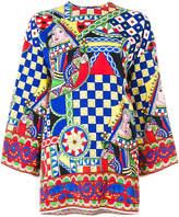 Dolce & Gabbana signature print tunic