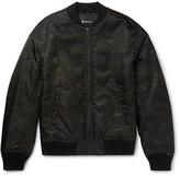 Alexander Wang Camouflage-Print Shell Bomber Jacket