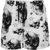 Firetrap Skull Sub Swim Shorts Mens
