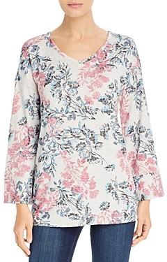 Cupio Floral Print Lightweight Sweater