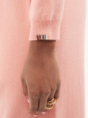 Extreme Cashmere No. 98 Kid Cropped Stretch-cashmere Sweater - Pink